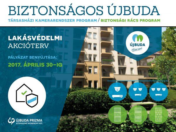 Biztonságos Újbuda – Lakásvédelmi Akcióterv